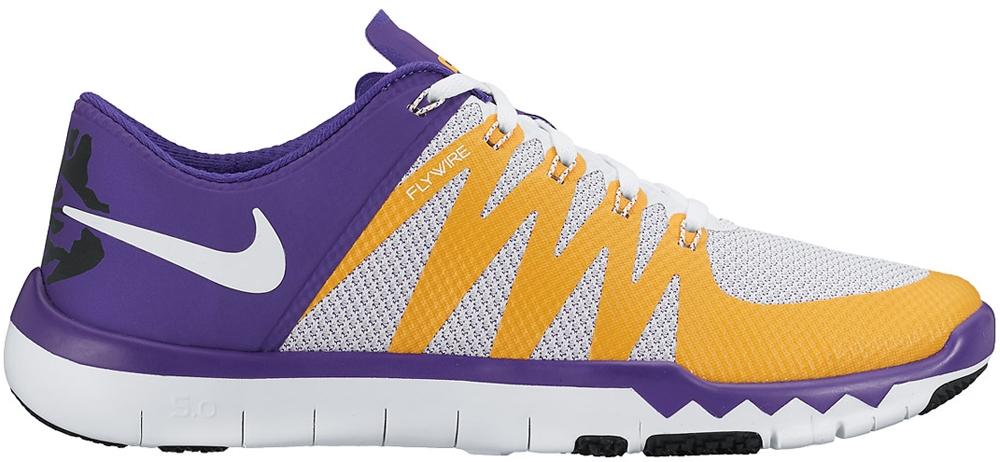 Nike Free Trainer 5.0 V6 Amp Court Purple/White-University Gold