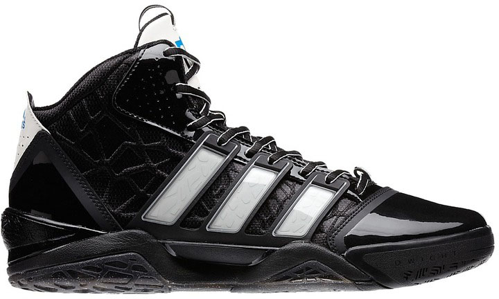 buy online b9d13 2c91d Dwight Howards Orlando Magic adidas Sneaker History - adiPower Howard 2  Black White (1)