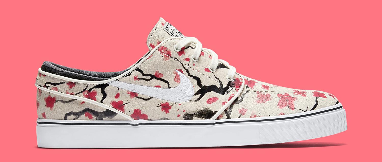 b1a9f78f09ff Nike SB Zoom Stefan Janoski Color  Sail White Hyper Pink Style     725074-112. Price   110