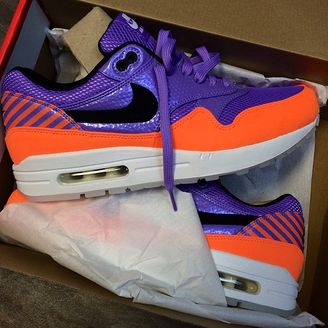 DJ Steph Floss Picks Up Nike Air Max 1 FB Mercurial
