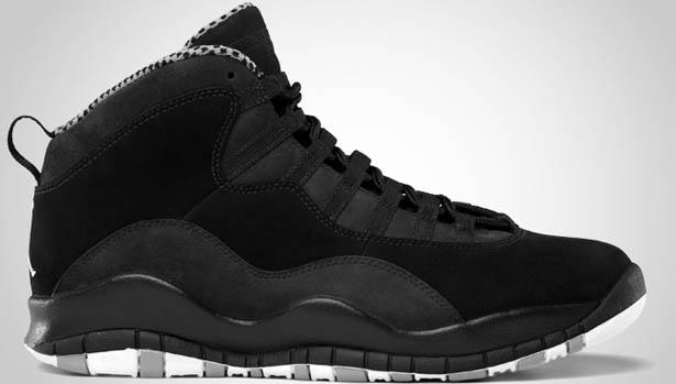 Air Jordan 10 All Black