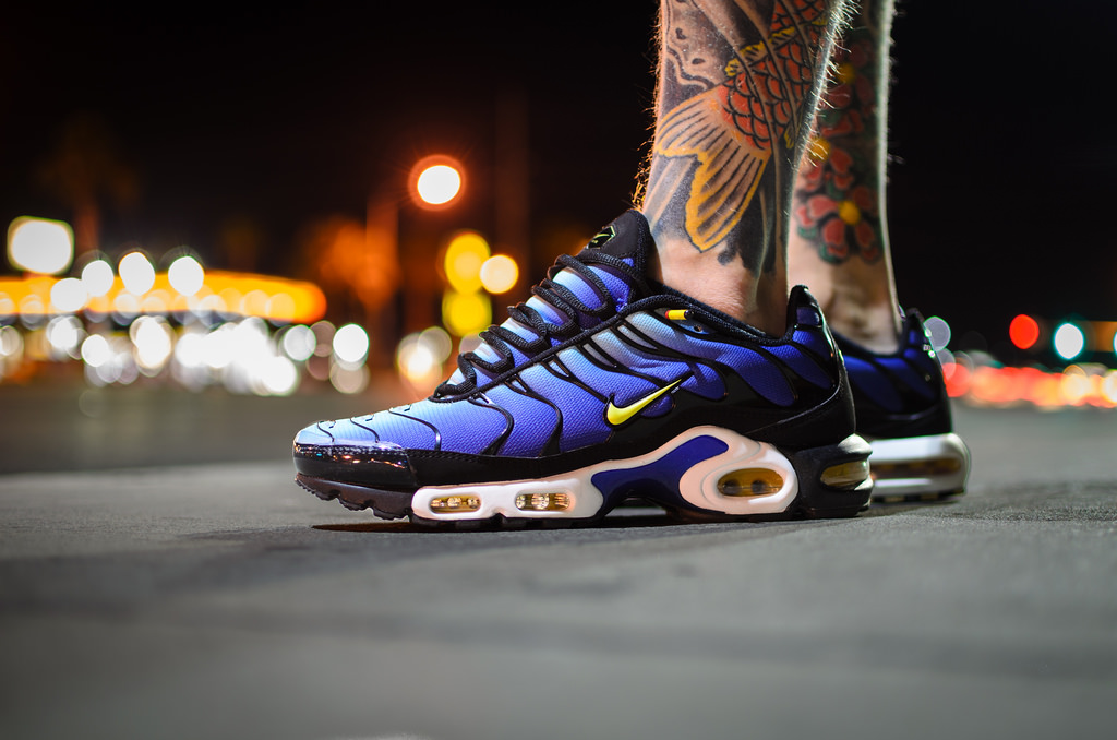 Blue Nike Air Max Plus