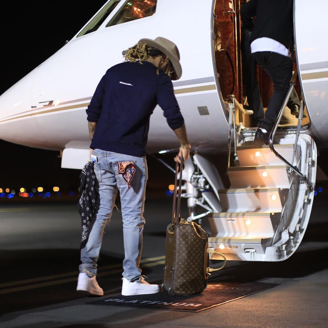 Future wearing the Nike Air Force 1