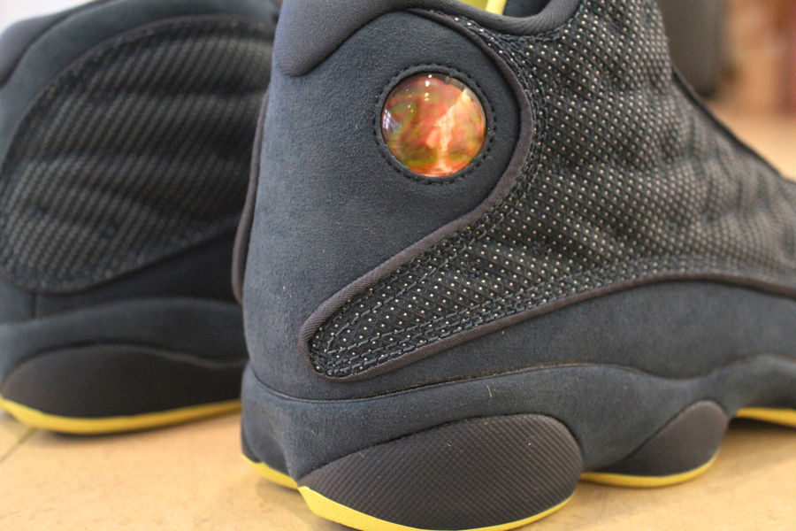 04b5b1d85be Air Jordan XIII 13 Squadron Blue Electric Yellow 414571-405 (2)