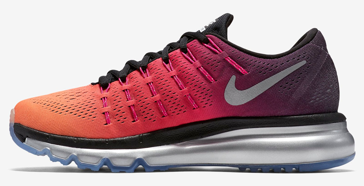 A Gradient Of Orange Highlights This Nike Air Max 2016
