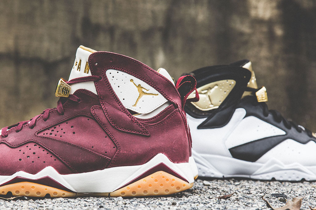 new styles 55788 aaacd Another Look at the Air Jordan 7 'Cigar & Champagne' Pack ...