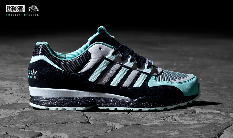 Sneaker Freaker x adidas Consortium Torsion Integral mint colorway