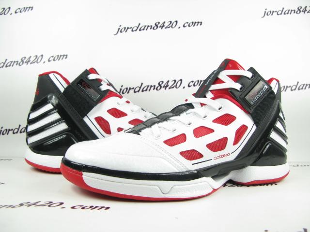 pretty nice 7de3a 79132 adidas adiZero Rose 2.0 White Red Black G22888