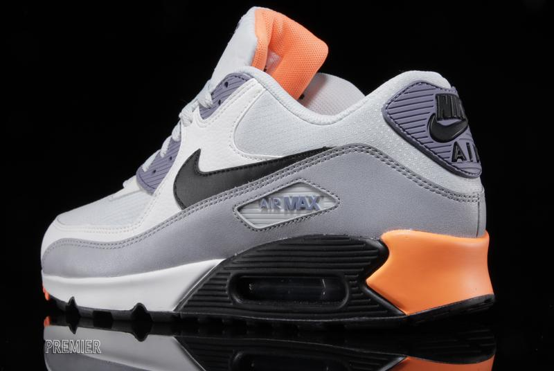 618ca21b02 ... top quality nike air max 90 essential iron purple atomic orange 19f80  9575b