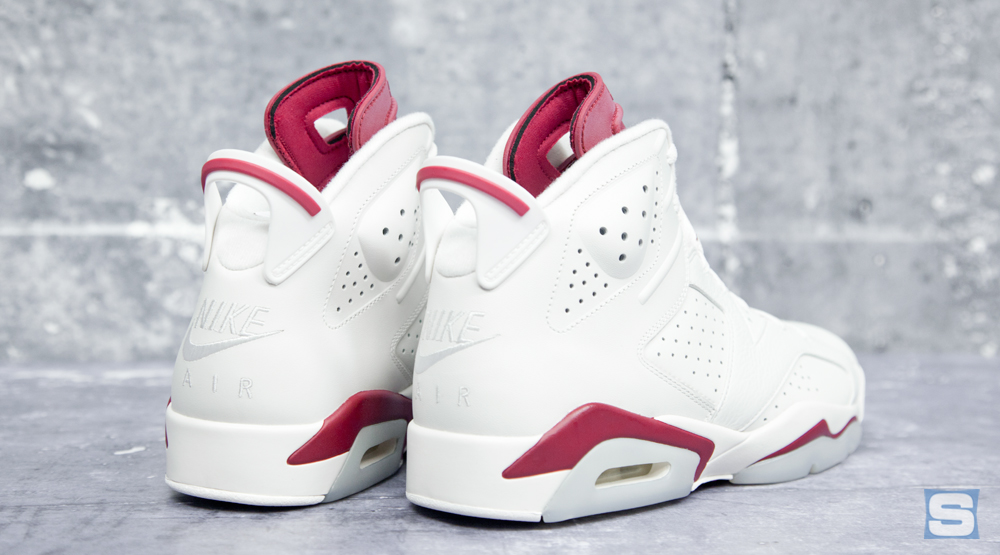 reputable site 0879b 2ff95 Here s the  Maroon  Jordan 6 in All Its Nike Air Glory