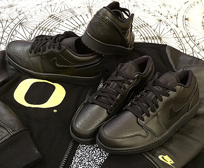 d66afc24d08425 ... 1 Low Blacks Out. Jordan Brand s 30th anniversary releases continue.