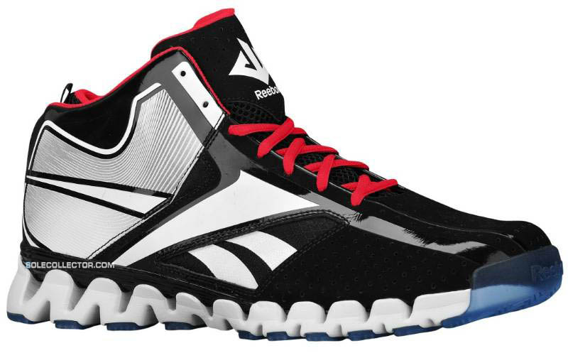 d1a66947093 Reebok Zig Encore John Wall Black White Red Ice J84856