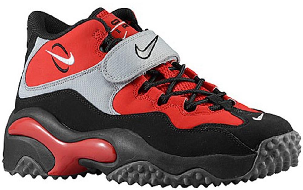 Nike Air Zoom Turf Fire Red/White-Black-Metallic Silver