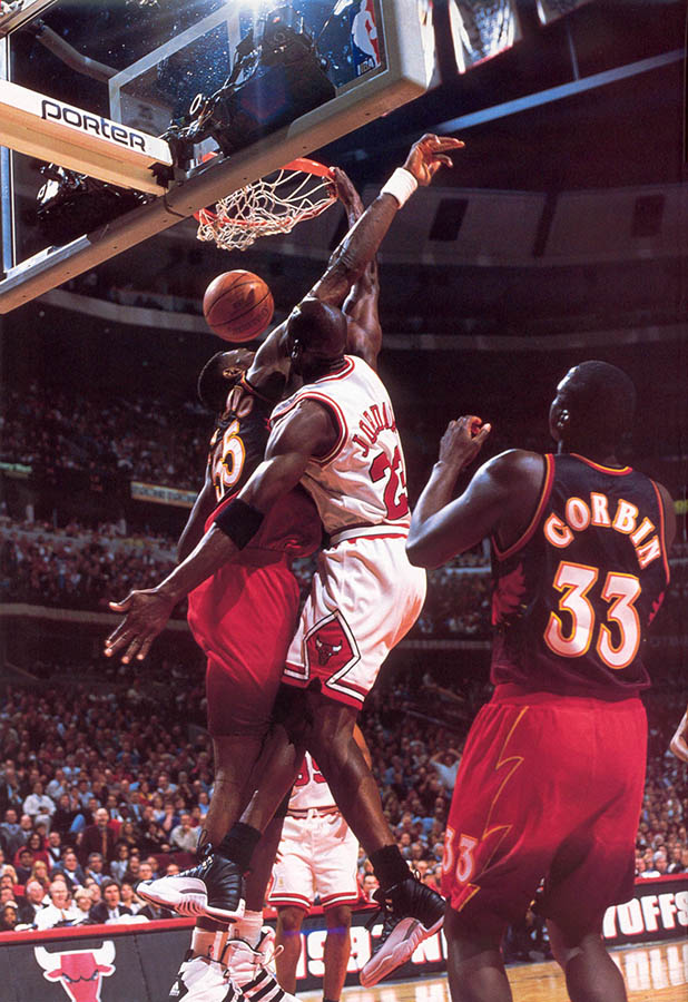 "Flashback // Michael Jordan Wearing the ""Playoff"" Air"