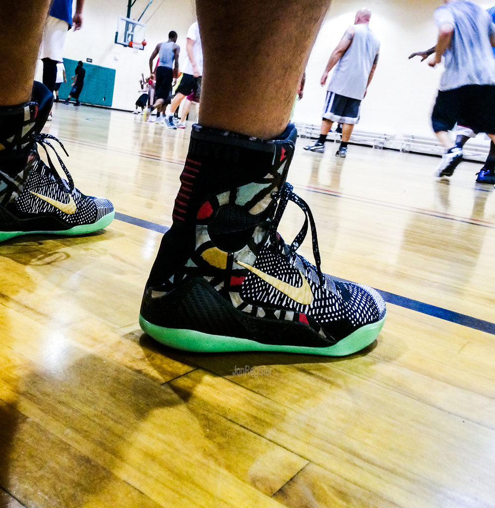 Spotlight: Forum Staff Weekly WDYWT? - 3.14.14 - JonRegister wearing Nike Kobe 9 Elite NOLA Gumbo League