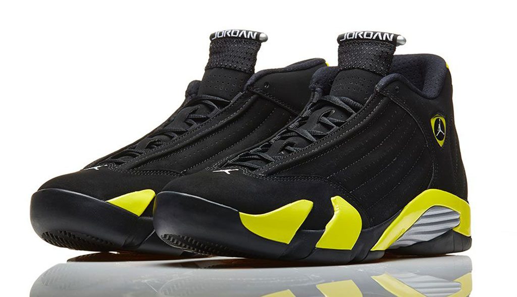 f995e67d62fb94 The Air Jordan 14 Retro returns later this week in an all new colorway.