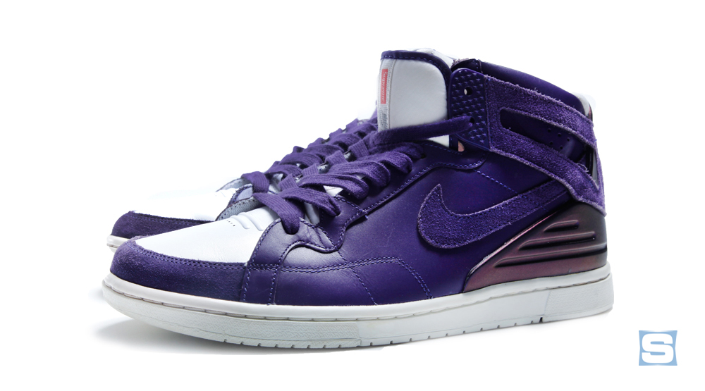 wholesale dealer edd10 1f123 Purple Supreme Nike SB Juicy J