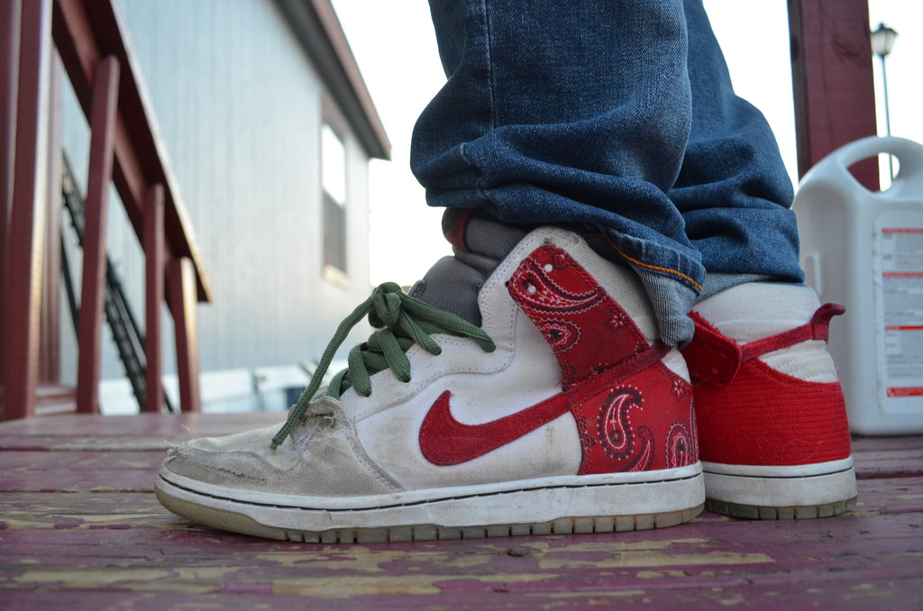 brand new 910ae 8706f nike sb dunk high cheech and chong new images