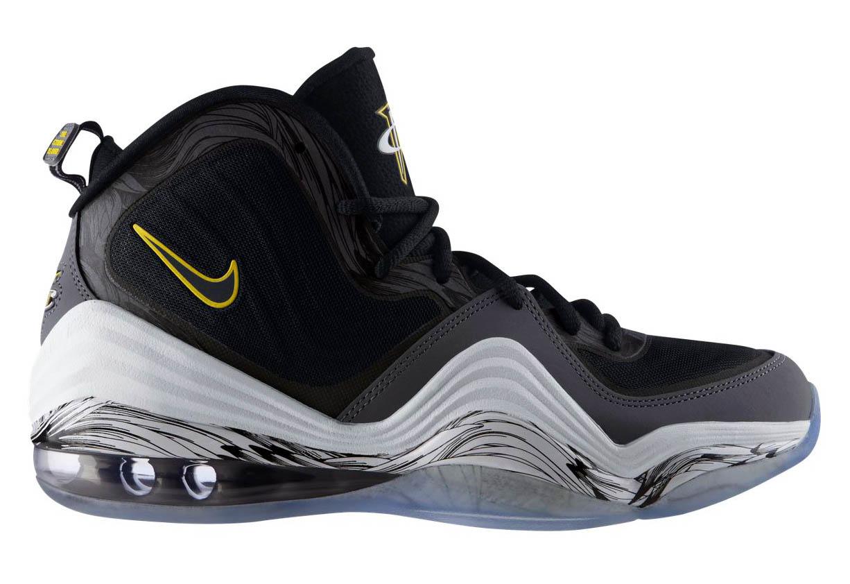 Nike PENNY BASKETBALL SHOES BLACK