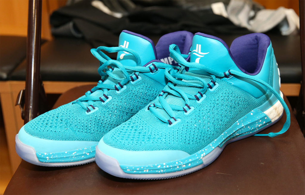 83b32a318de Jeremy Lin Has 'Hornets' adidas Crazylight Boost PEs | Sole Collector