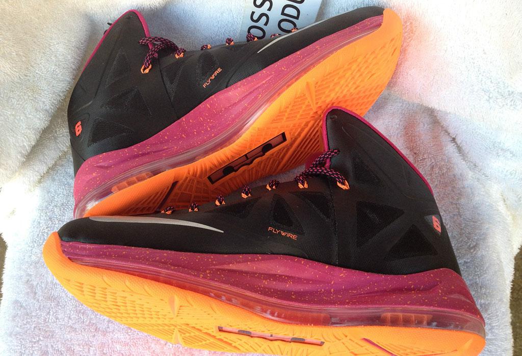 sneakers for cheap 9a525 e6c0b Nike LeBron X 10 Floridians Away (5)