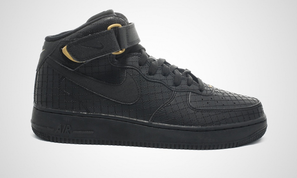 huge discount c85bd e42ee Here Are Two Lux-Looking Nike Air Force 1 Mids | Sole Collector