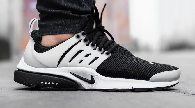 premium selection b6d90 732d4 Nike Air Presto White Black