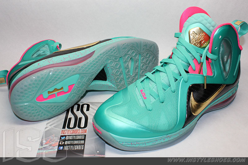 hot sale online cb3a7 92b16 Nike LeBron 9 PS Elite  South Beach  MVP Sample (3)