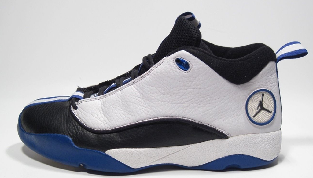 team jordan shoes 1999 white and blue 753575
