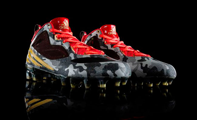 Robert Griffin III RG3 To Honor Military by Debuting First adidas Signature Cleat (1)