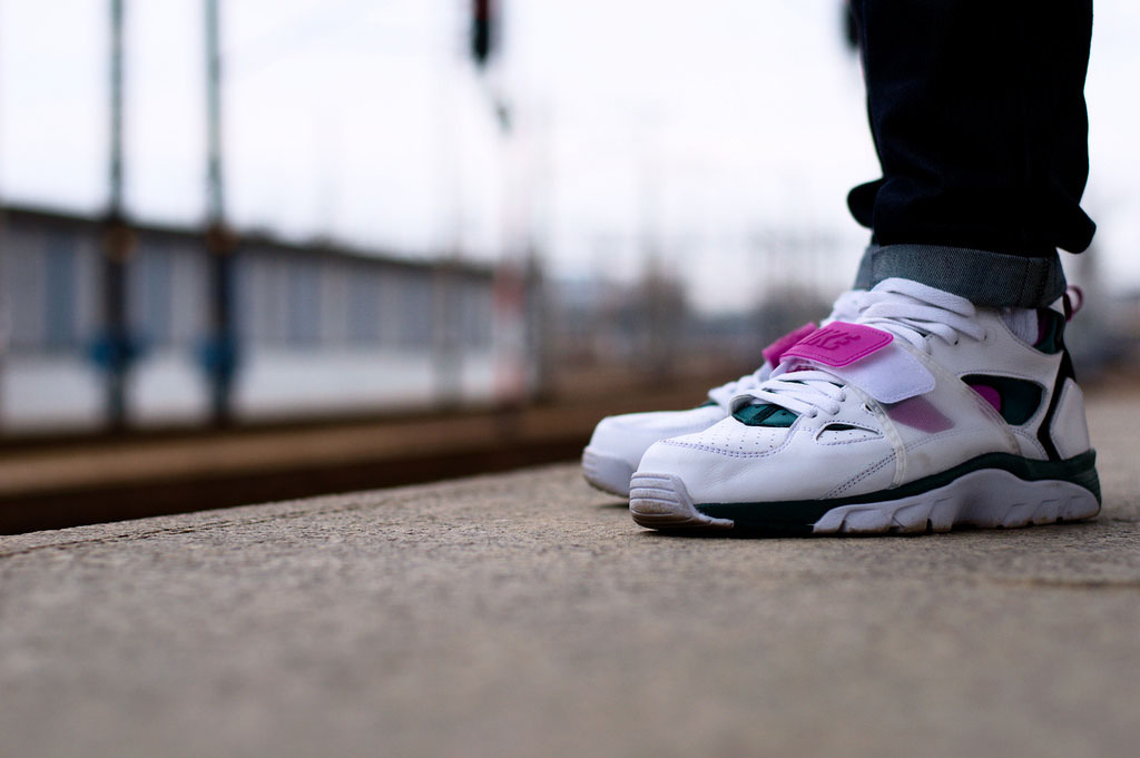 Rychu08 wearing the Nike Air Trainer Huarache