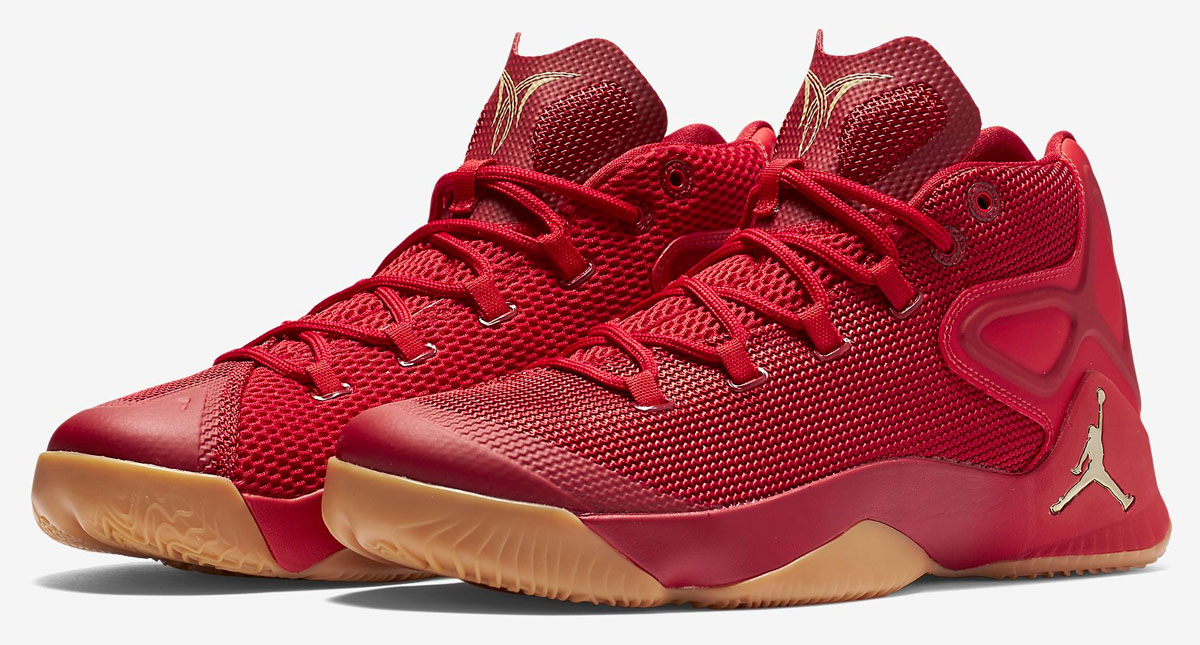 competitive price e2a31 bb180 ... ireland jordan melo m12 red gum 1 7148c 9300f