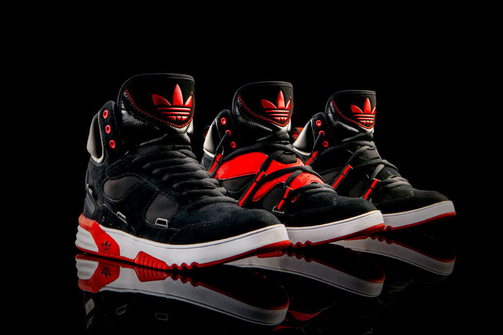 adidas Originals Roundhouse Instinct Black Red Q32908 (7)