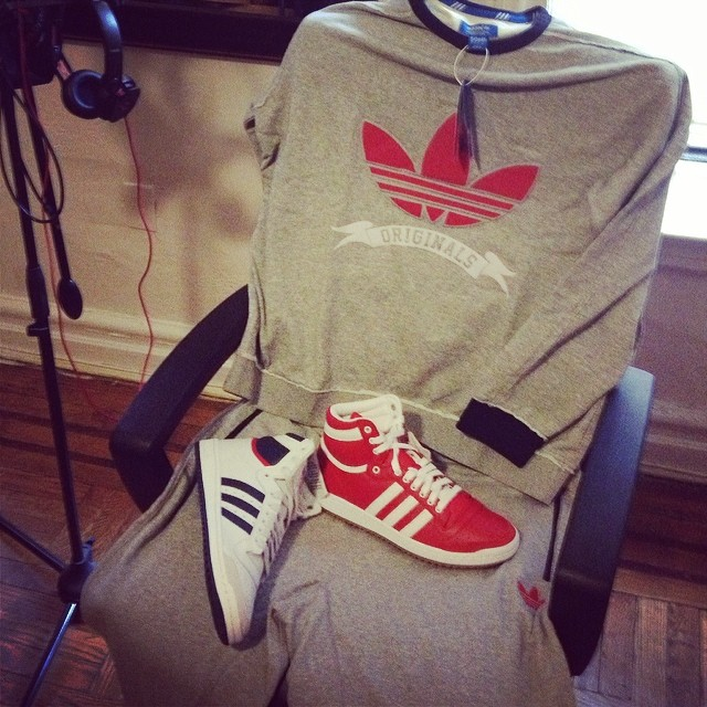 Troy Ave Picks Up adidas Originals Top Ten