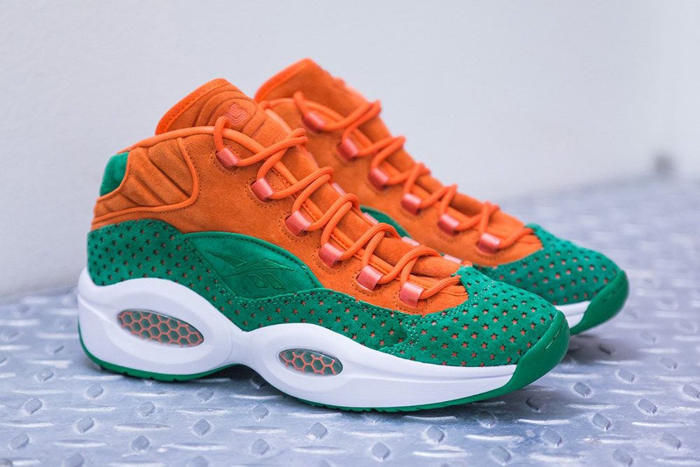 Sneakersnstuff x Reebok Question 15 Stars