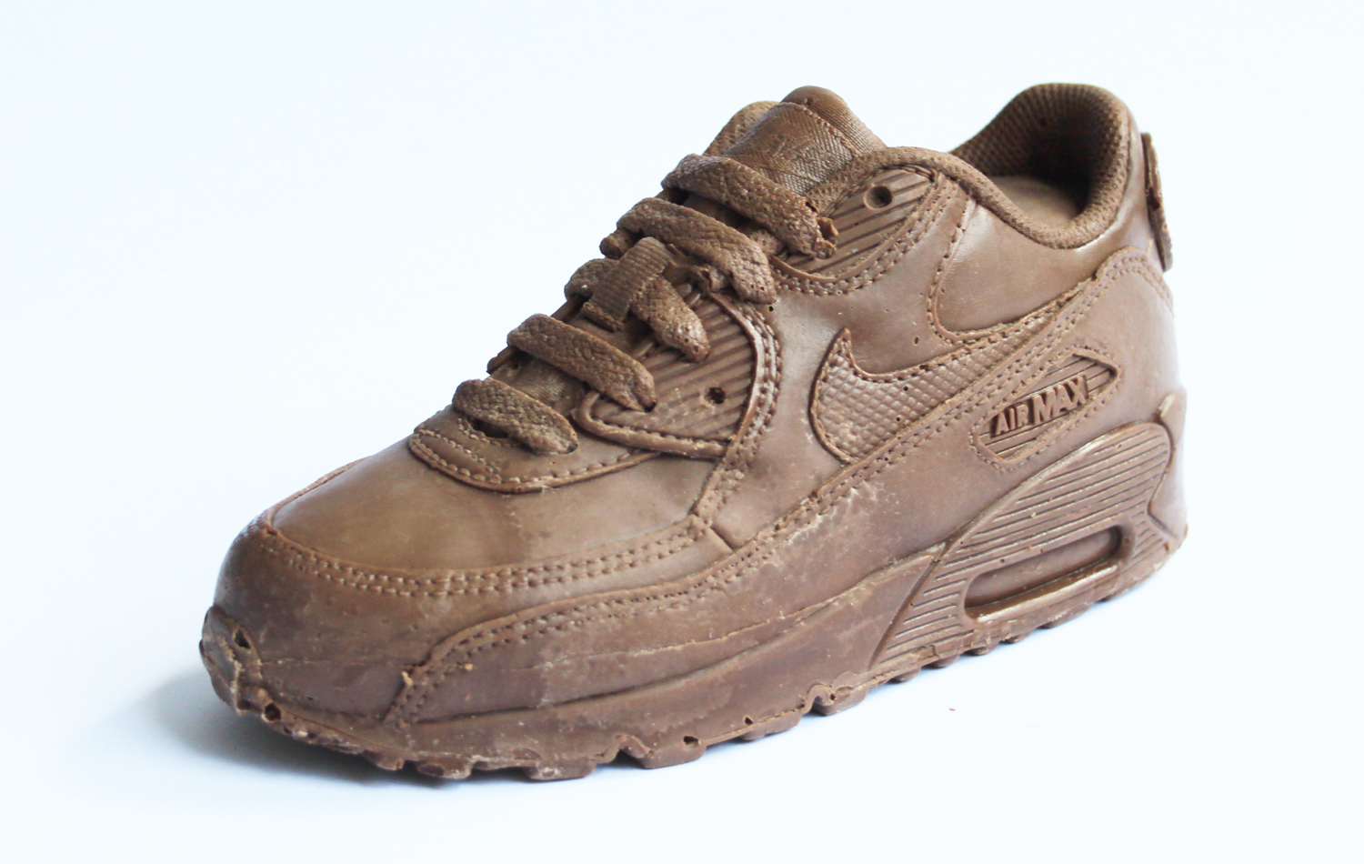 499c526af373 Someone Actually Made an All-Chocolate Nike Air Max 90