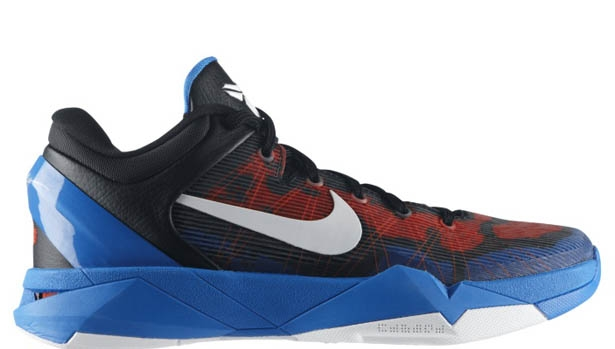 Nike Zoom Kobe 7 Poison Dart Frog Photo Blue