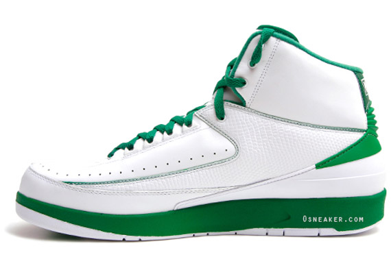 reputable site 72611 9da24 Closer Look: Air Jordan Retro 2 - Ray Allen Boston Celtics ...