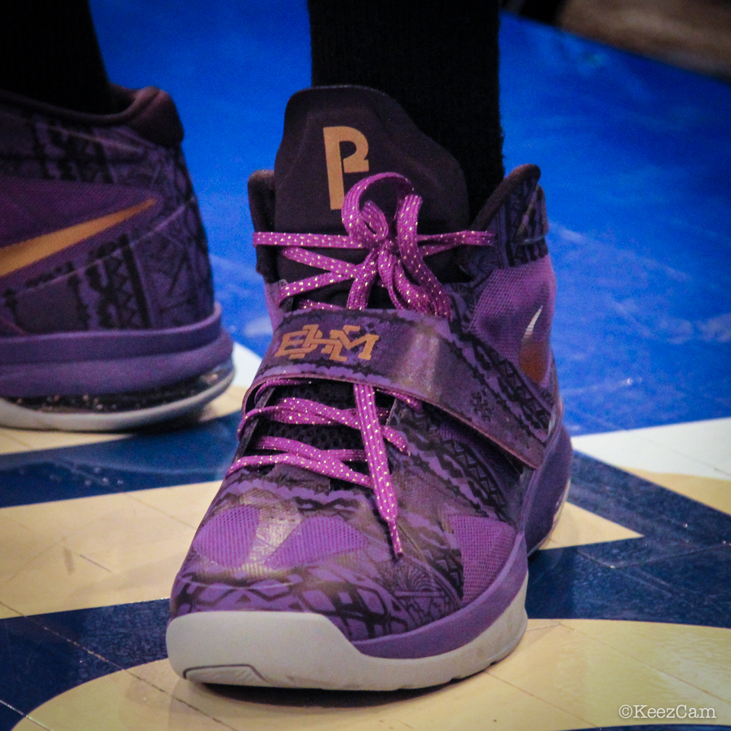 Sole Watch: Up Close At MSG for Knicks vs Nets - Paul Pierce wearing Nike Air Legacy 3 BHM