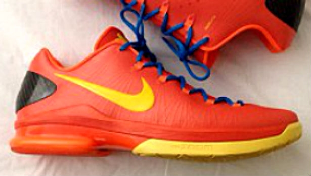 Nike KD 5 Elite Team Orange
