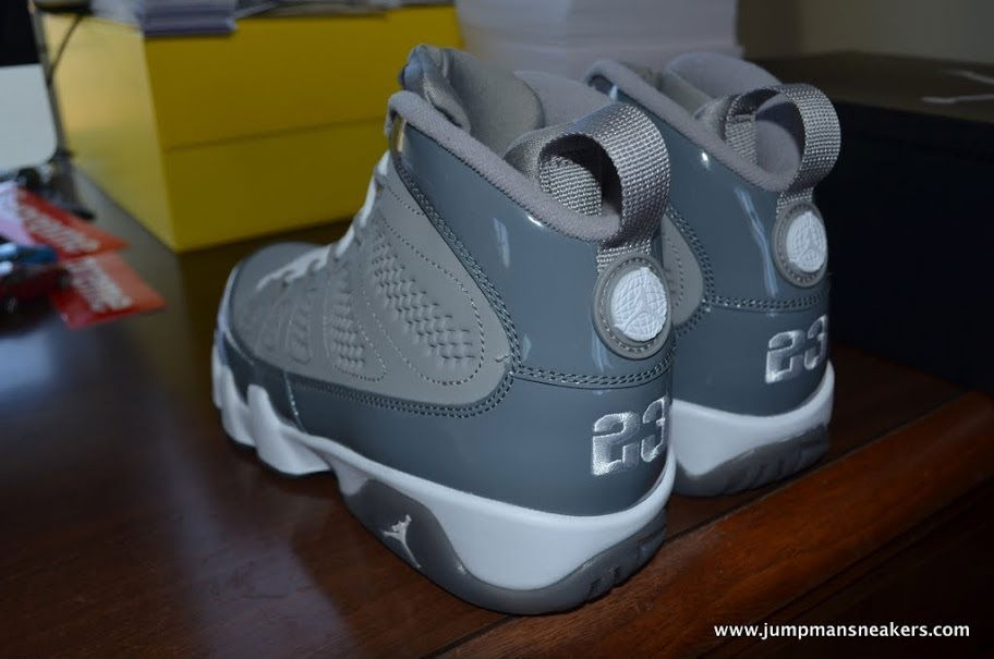 7391b23f57db Air Jordan IX 9 Cool Grey 302370-015 (8)