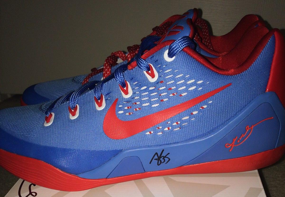17a1f9e7a71 Nike Kobe 9 EM Angel McCoughtry Atlanta Dream PE