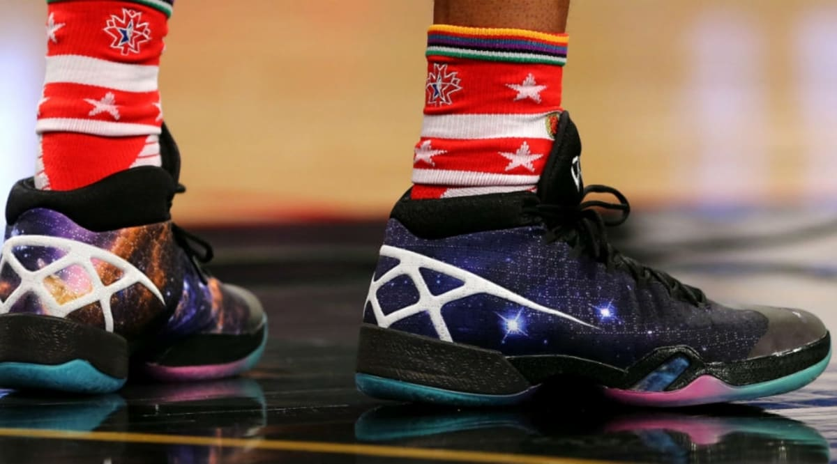 every sneaker worn in the 2015 nba all-star practice | sole collector