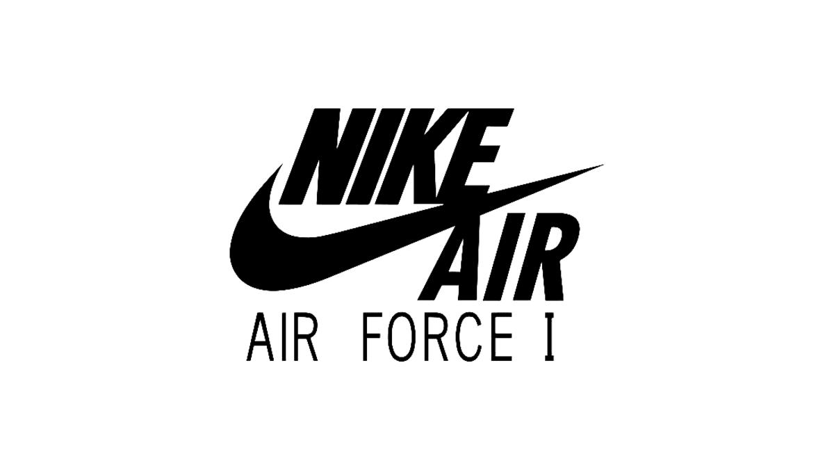 baffo nike air force 1