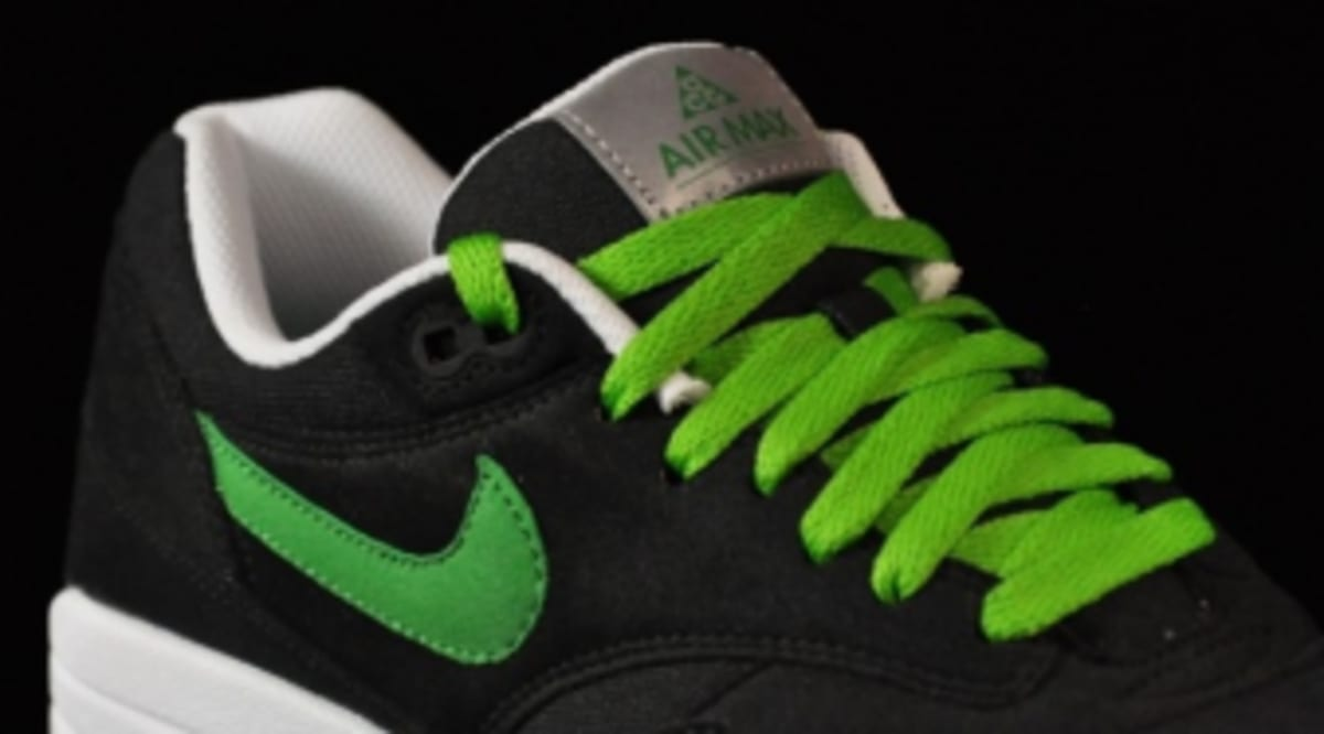1552558a1c Nike Air Max 1 ACG Pack - Black/Victory Green | Sole Collector