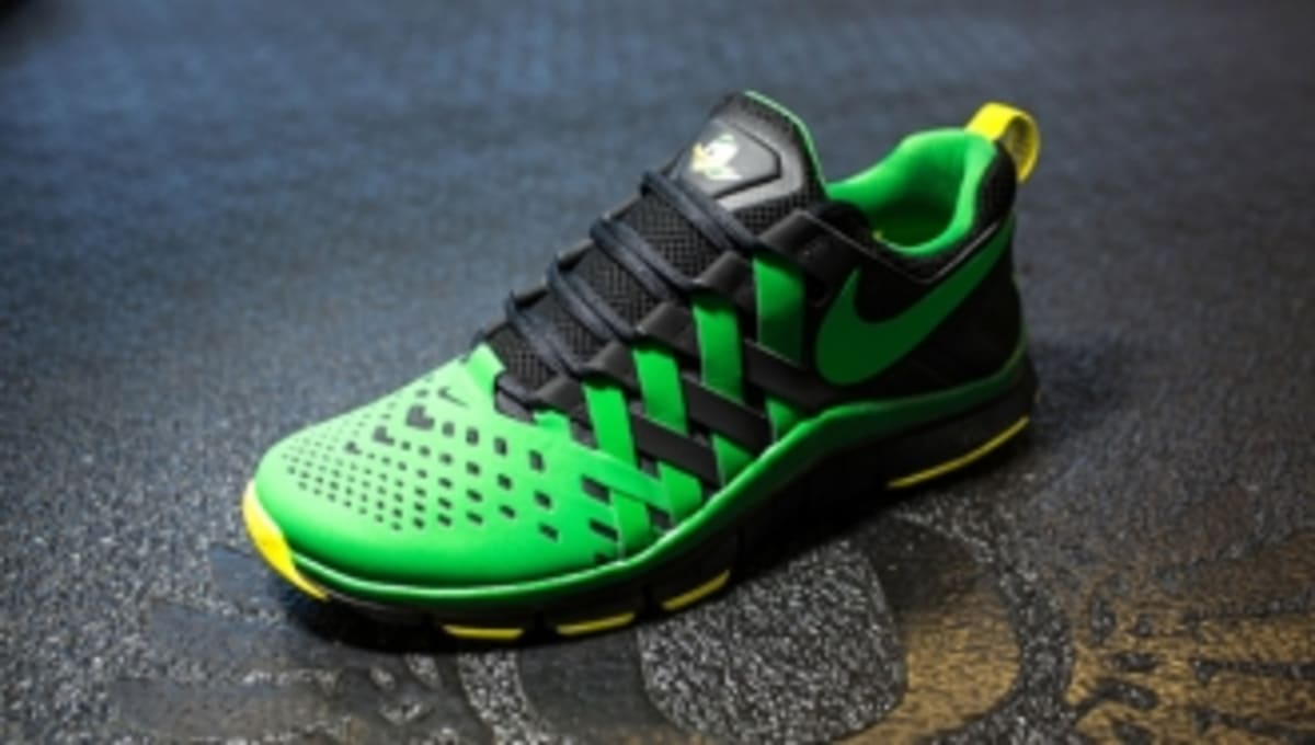 dd39574c7f8f Nike Free Trainer 5.0  Oregon Ducks  - Updated Release Date