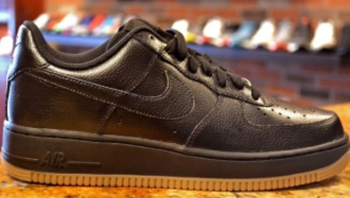 Nike Air Force 1 Low Black Gum Sole Collector