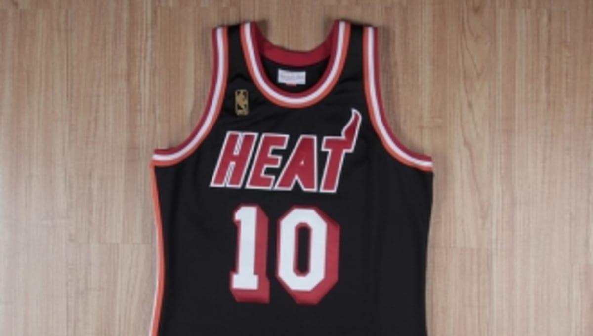 half off fbb8a 6fa99 Jersey Spotlight: Tim Hardaway Miami Heat Hardwood Classics ...