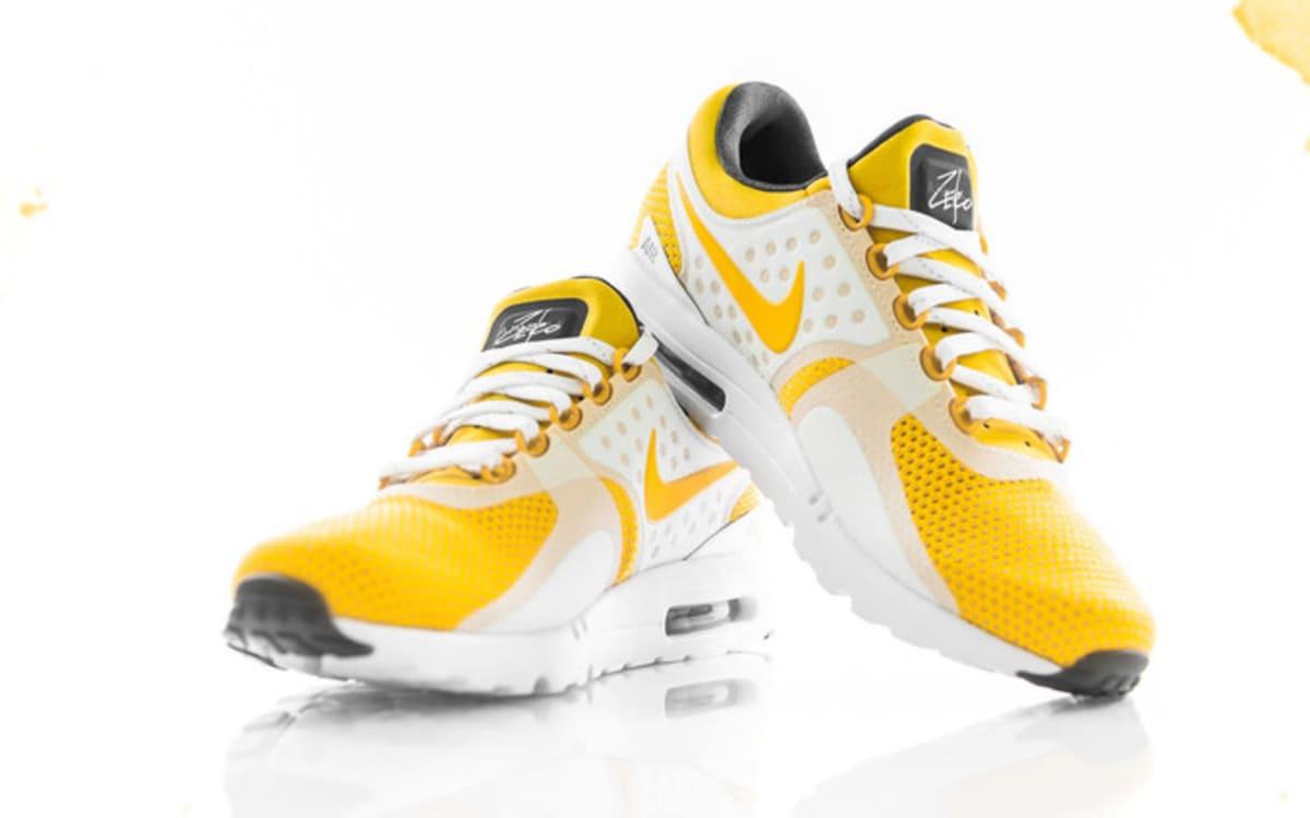 Second Chance Auto >> Nike Air Max Zero White Yellow Restock | Sole Collector
