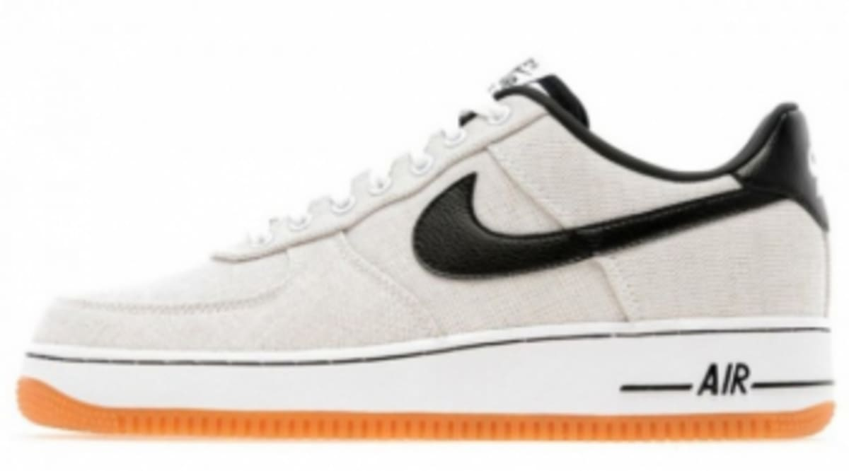 c1aa0bcdedb5 Nike Air Force 1 Low Canvas - White Black-Gum